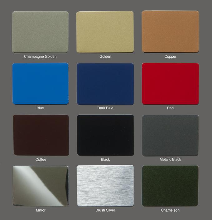 Acp Aluminium Composite Panels Standard Glass
